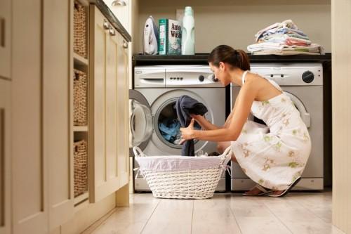 Nước cấp vào máy giặt chậm