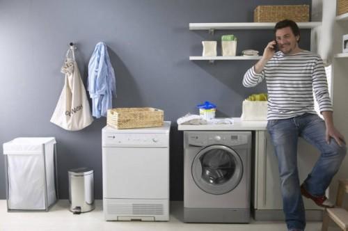 sử dụng máy giặt tiết kiệm điện