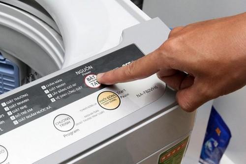 Cách sử dụng máy giặt Panasonic